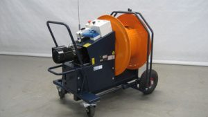 Electric hose reel | Steenks Service