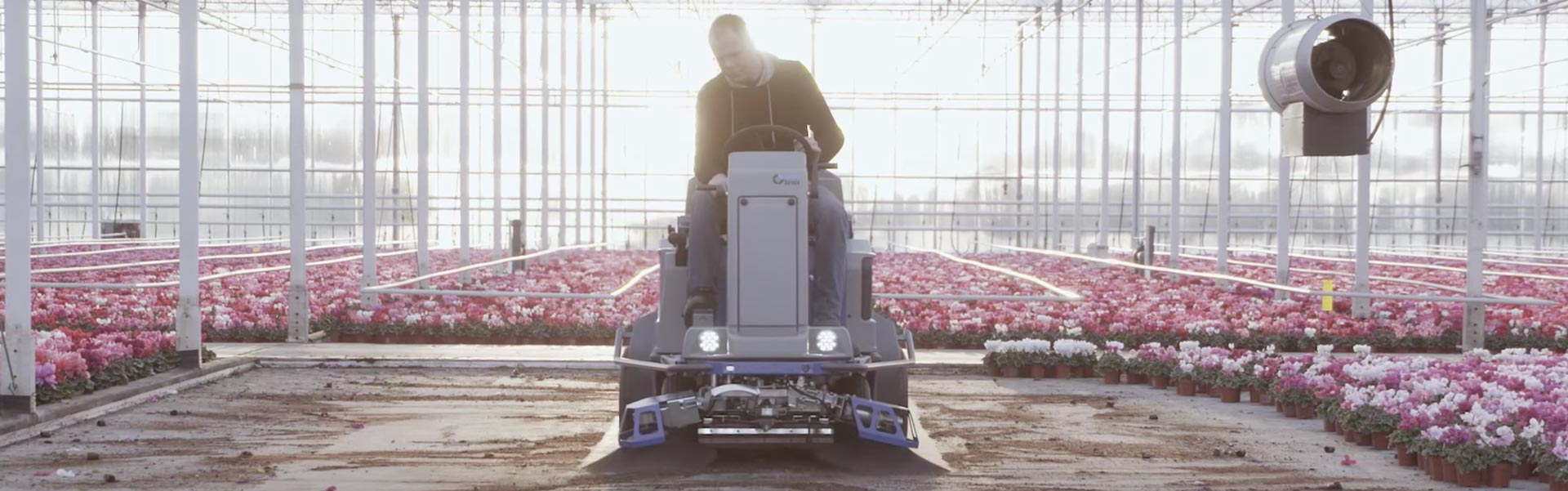 Stefix 135 ground cover sweeper commercial