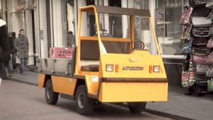 Tow tractor with cabin for sale