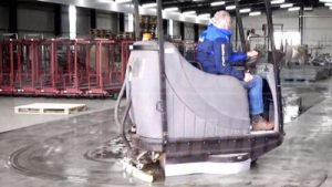 Scrubber dryer