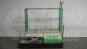 Used pipe rail trolley | Steenks Service