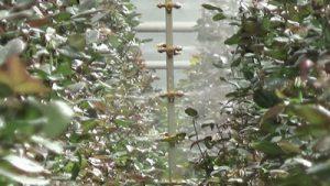 Spritzmast für den Gartenbau
