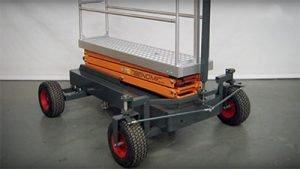 Greenhouse air wheel trolley