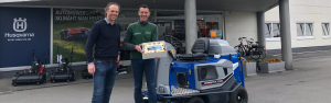 Steenks Service reaches milestone: 100th delivery of Stefix 135 ground cover floor sweeper!