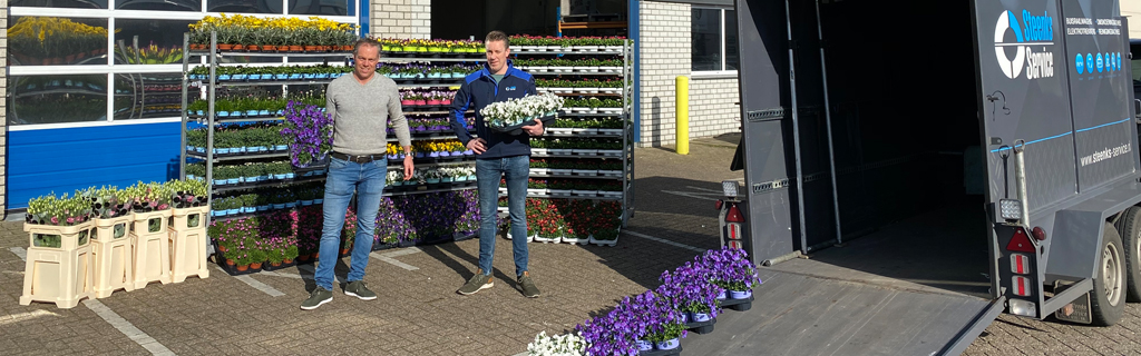 Support the floriculture sector and participate in the FlowerBoostChallenge | Steenks Service
