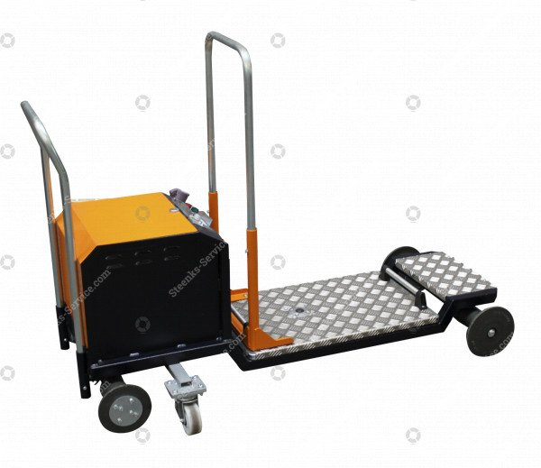 Leafpicking trolley