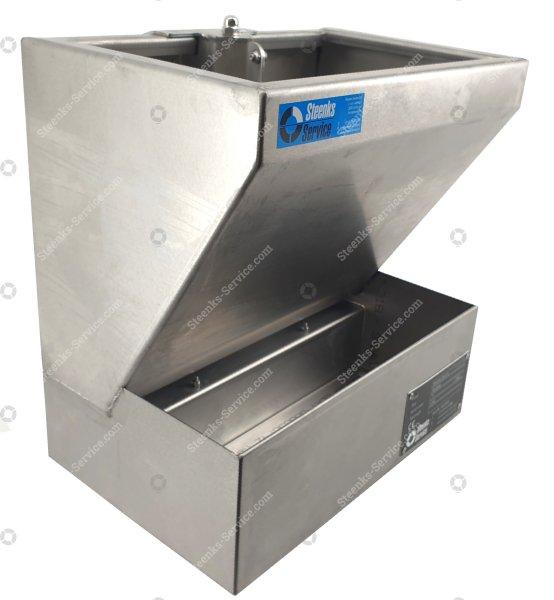 Dipcontainer / Sanitizer bin Stainless